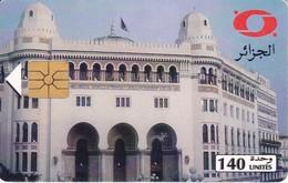 TARJETA DE ARGELIA DE 140 UNITES DE LA POSTE CENTRALE - Argelia