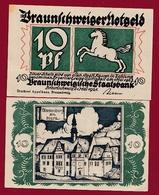 Allemagne 1 Notgeld 10 Pfenning Stadt Arnstadt Dans L 'état Lot N °5911 - [ 3] 1918-1933 : République De Weimar