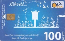 TARJETA DE ARGELIA DE 100DA DE LIBERTE - Algerien