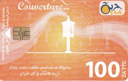 TARJETA DE ARGELIA DE 100DA DE COUVERTURE - Algerien
