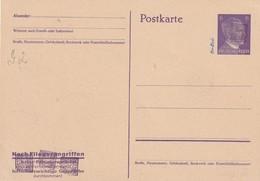 ALLEMAGNE ZONE SOVIETIQUE     ENTIER POSTAL/GANZSACHE/ POSTAL STATIONERY   CARTE - Zone Soviétique