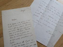 Charles MAGNIN (1793-1862) Erudit SALINS. Académie INSCRIPTIONS Belles Lettres. AUTOGRAPHE - Autographs