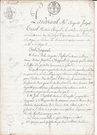 GISORS ( 27 ) - Cordonnier Demeurant à Gisors - Acte De 1817 - Gisors
