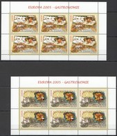 RM155 2005 ROMANIA GASTRONOMY EUROPA CEPT #5935-36 MICHEL 42 EURO 2KB MNH - 2005