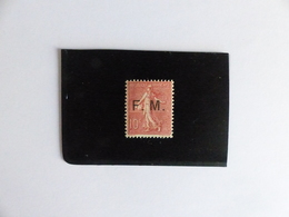 FRANCHISE  MILITAIRE  N°  4  NEUF **  COTE  130 € - Franchise Stamps