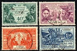 13828 Saint Pierre E Miquelon 132/35 Exposição Colonial Paris U - 1931 Exposition Coloniale De Paris