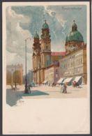 """""""München"""", Farb. Künstlerkarte, Sign. """"Kley"""", Ca. 1900 - München"""