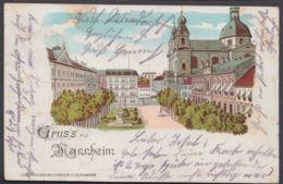 """""""München"""", Farb. """"Gruß Aus..."""", 1901 Nach Zürich Gelaufen - München"""