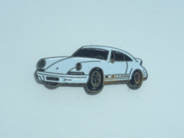 Pin's VOITURE 480, PORSCHE 911 Blanche - Porsche