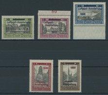 FREIE STADT DANZIG 231-35 **, 1932, Luposta, Postfrischer Prachtsatz, Mi. 220.- - Dantzig