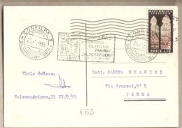 Italia - Cartolina Viaggiata Con Annullo Speciale: CONFILPA 2 A Salsomaggiore (PR) - 1955 - 1946-.. République
