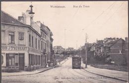 CPA Watermael - Rue Du Tram - Tram N° 33 - 1912 - Watermael-Boitsfort - Watermaal-Bosvoorde