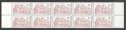 RM224 1991 ROMANIA ARCHITECTURE CENTRAL LIBRARY #4759 MICHEL 10ST MNH - Sonstige