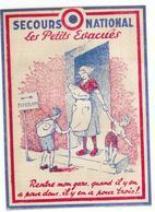 Secours National Les Petits Evacués 1944 - Calendarios