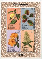 Ref. 93148 * NEW *  - SAMOA . 1981. CHRISTMAS. NAVIDAD - Samoa