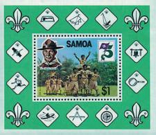 Ref. 38873 * NEW *  - SAMOA . 1982. 75th ANNIVERSARY OF THE SCOUTS. 75 ANIVERSARIO DEL ESCULTISMO - Samoa
