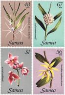 Ref. 93150 * NEW *  - SAMOA . 1985. ORCHIDS. ORQUIDEAS - Samoa