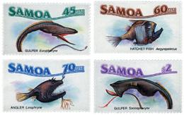Ref. 45526 * NEW *  - SAMOA . 1987. MARINE FAUNA. FAUNA MARINA - Samoa