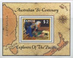 Ref. 40852 * NEW *  - SAMOA . 1987. HAFNIA 87. INTERNATIONAL PHILATELIC EXHIBITION. HAFNIA 87. EXPOSICION FILATELICA INT - Samoa