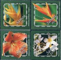 Ref. 159353 * NEW *  - SAMOA . 2004. FLOWERS. FLORES - Samoa