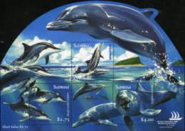 Ref. 181355 * NEW *  - SAMOA . 2005. DOLPHINS. DELFINES - Samoa