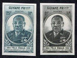 Colonie Française, Guyane N°180/1 Non Dentelés Neuf**, Qualité TB - Nuovi
