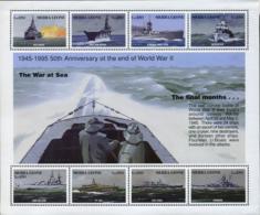 Ref. 253304 * NEW *  - SIERRA LEONE . 1995. 50th ANNIVERSARY OF THE END OF THE SECOND WORLD WAR. 50 ANIVERSARIO DEL FIN - Sierra Leone (1961-...)