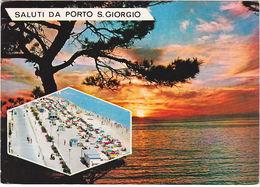 PORTO SAN GIORGIO - ASCOLI PICENO - VIAGG. 1979 -71227- - Ascoli Piceno