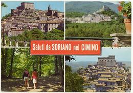 SORIANO NEL CIMINO - VITERBO - SALUTI DA.. -22768- - Viterbo