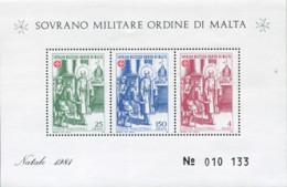Ref. 611325 * NEW *  - SOVEREIGN MILITARY ORDER OF MALTA . 1981. CHRISTMAS. NAVIDAD - Sovrano Militare Ordine Di Malta