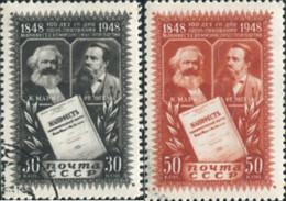 Ref. 372627 * USED *  - SOVIET UNION . 1948. 100 ANNIVERSARUOO OF THE COMMUNIST MANIFESTO. 100 ANIVERSARUOO DEL MANIFIES - Unused Stamps
