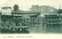 Dendermonde - Termonde - Le Grand Pont Sur L'Escaut - Schelde - Dendermonde