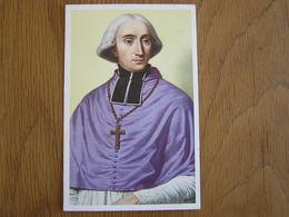 Le Royaume De Belgique Chromo N° 367 Monseigneur De Broglie Huens Collection Nos Gloires Histoire Chromos Trading Card - Artis Historia