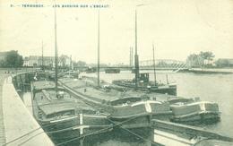 Dendermonde - Termonde - Les Bassins Sur L'Escaut - Schelde - Binnenscheepvaart - Schip - Dendermonde