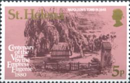 Ref. 243421 * NEW *  - ST. HELENA . 1980. 100th ANNIVERSARY OF THE VISIT OF EMPERATRIZ EUGENIA. 100 ANIVERSARIO DE LA VI - Isola Di Sant'Elena