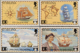 Ref. 35862 * NEW *  - ST. HELENA . 1992. 500th ANNIVERSARY OF AMERICA  DISCOVERY. 500 ANIVERSARIO DEL DESCUBRIMIENTO DE - Isola Di Sant'Elena