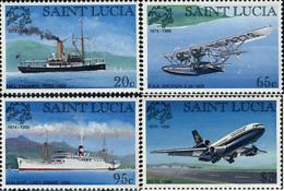 Ref. 49082 * NEW *  - ST. LUCIA . 1999. 125th ANNIVERSARY OF UPU. 125 ANIVERSARIO DE LA UPU - St.Lucia (1979-...)