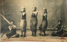 PANTOMIME LAOTIENNE - 1ERE FIGURE C00131 - Laos