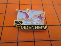 420 Pin's Pins / Beau Et Rare / THEME : SPORTS / CLUB GYMNASTIQUE SG DIDENHEIM - Gymnastique