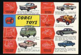 OLD 1962 ORIGINAL CORGI TOYS LEAFLET CATALOG PORTUGUESE EDITION - Corgi Toys