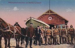 Westerland - Rettungsboot Wird Klar Gemacht - 1920      (A-200-191119) - Croix-Rouge