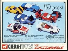 1970 ORIGINAL CORGI TOYS LEAFLET CATALOG - Toy Memorabilia