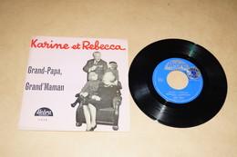Georges Simenon,RARE Disque 45 T De Karine Et Rebecca ,état MINT Pour Collection - Autres Collections