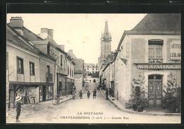 CPA La Bretagne Chateaubourg, Grande Rue - Frankrijk