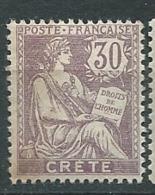 Crète -   Yvert N° 10 *     Ay 26001 - Neufs