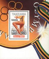 Ref. 40047 * NEW *  - TANZANIA . 1988. GAMES OF THE XXIV OLYMPIAD. SEOUL 1988. 24 JUEGOS OLIMPICOS VERANO  SEUL 1988 - Tanzania (1964-...)