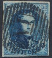 "Médaillon - N°11A Margé Obl Ambulant ""N. I"" (Nord N°1). TB - 1858-1862 Medaillons (9/12)"