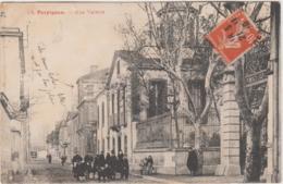 PERPIGNAN RUE VALETTE 1910 - Perpignan