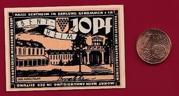Allemagne 1 Notgeld 10 Pfenning Stadt Bentheim Dans L 'état Lot N °5957 - [ 3] 1918-1933 : République De Weimar