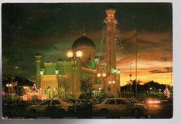 REF 480 :  CPSM Brunei Bagawan View Of The Masjid Omar Ali Saifuddin - Brunei